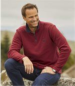 Pack of 2 Men's Mountain Passion Microfleece Jumpers