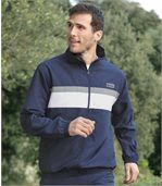 Men's Blue Casual Tracksuit - Microfibre preview2