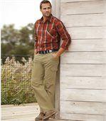 Spodnie z wieloma kieszeniami preview2