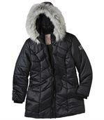 Prošívaná bunda do mrazivého počasí