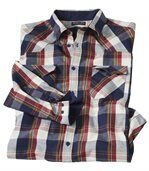 Trendy kockovaná košeľa preview2