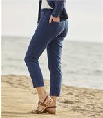 Pantalon 7/8ème en Jeans Stretch preview2