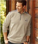Sweatshirt aus kuschelweichem Molton preview1