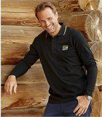 2er-Pack Poloshirts Sport Chic in Piqué-Qualität