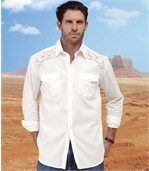 Chemise White Country preview1