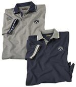 2er-Pack Poloshirts Canada Nature preview1