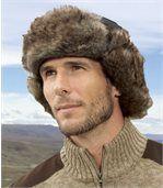 Ciepła czapka z mikrofibry preview1