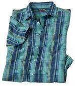Kockovaná košeľa Ostrovy Stredomoria preview2