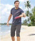 Bermudy zmikrovlákna Sunny Beach preview3
