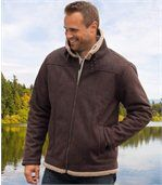 Blouson Homme Marron Authentique