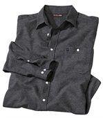 Melírovaná flanelová košile preview2