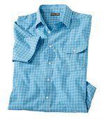Kostkovaná košile Azur preview2