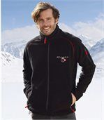 Fleecejacke mit sportlichem Touch preview1