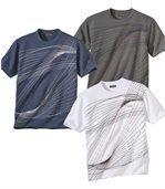 Súprava 3 tričiek Sport Team preview1