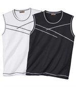 Set van 2 mouwloze T-shirts preview1