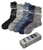 Sada 5 párů ponožek se žakárovým vzorem preview1