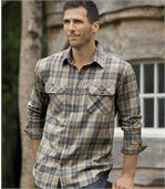Men's Checked Flannel Shirt preview1