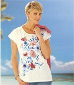 Tee-Shirt Hibiscus preview1