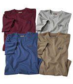 Set van 4 T-shirts 'New Frontier' preview1