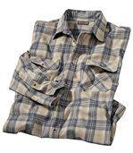 Flanelová košeľa Andin