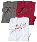 3er-Pack T-Shirts Sport preview1