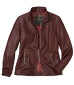 Women's Faux-Leather Jacket preview2