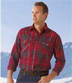 Flanelová košeľa Montagne preview1