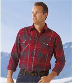 Men's Checked Mountain Flannel Shirt