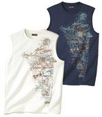 2er-Pack Tanktops African Desert preview1