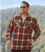 Het woudlopers overhemdvest met sherpa preview1