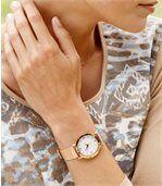 Elegancki zegarekozdobiony kryształkami Swarovskiego® preview2