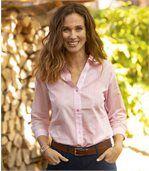 Długa koszula Pink Stripes preview1