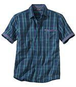 Popelínová košeľa Chambray preview2