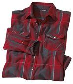 Men's Checked Mountain Flannel Shirt preview3