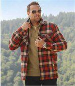 Het woudlopers overhemdvest met sherpa preview2