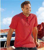 2er-Pack T-Shirts Urlaubszeit mit Schnürung preview2