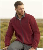 Men's Red Fleece Jacket