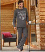 Men's Grey Winter Legend Pyjamas