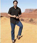 Modré strečové džíny Stretch Blue preview2