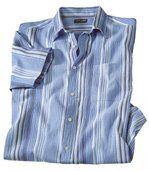 Krepová košile vbarvách Azurového pobřeží preview2