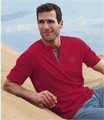 Set van 3 Caprera T-shirts met Tunesische hals preview2