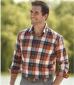 Jarná flanelová košeľa preview1
