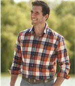 Podzimní flanelová košile preview1
