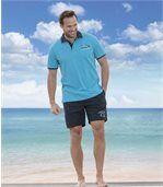 2er-Pack Shorts Ocean Wave aus Microfaser preview2
