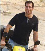 Set van 3 Caprera T-shirts met Tunesische hals preview3