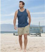 2er-Pack Shorts Ocean Wave aus Microfaser preview3
