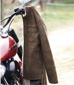 Jacke Westmount in Wildlederoptik mit Teddyfutter preview3