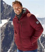 Men's Snow Time Red Padded Jacket preview1