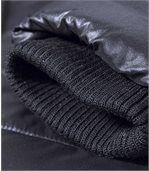 Zateplená prešívaná bunda na zimu