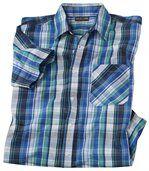 Koszula w niebieską kratę preview2